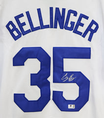 Cody Bellinger Los Angeles Dodgers Signed Autographed White #35 Jersey Global COA