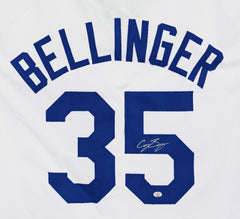 Cody Bellinger Los Angeles Dodgers Signed Autographed White #35 Custom Jersey PAAS COA