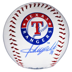 Adrian Beltre Texas Rangers Signed Autographed Rawlings Official Major League Logo Baseball Global COA with Display Holder