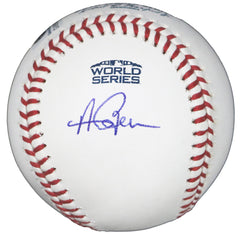 Andrew Benintendi Boston Red Sox Signed Autographed Rawlings 2018 World Series Official Baseball Global COA with Display Holder