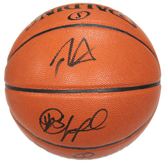 Chris Paul and Blake Griffin Los Angeles Clippers Signed Autographed Spalding NBA Game Replica Basketball Global COA