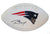 Tom Brady New England Patriots Signed Autographed White Panel Logo Football PAAS COA