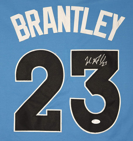 Michael Brantley Cleveland Indians Signed Autographed 2017 All Star #23 Jersey JSA COA