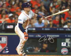 "Alex Bregman Houston Astros Signed Autographed 8"" x 10"" Hitting Photo Global COA"