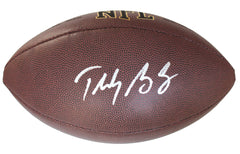 Teddy Bridgewater Carolina Panthers Signed Autographed Wilson NFL Football PAAS COA