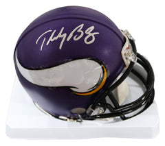 Teddy Bridgewater Minnesota Vikings Signed Autographed Football Mini Helmet PAAS COA