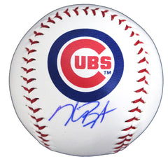 Kris Bryant Chicago Cubs Signed Autographed Rawlings Logo Major League Baseball Global COA with Display Holder