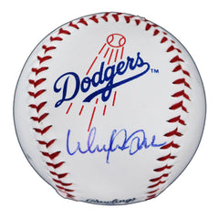 Walker Buehler Los Angeles Dodgers Signed Autographed Rawlings Official Major League Logo Baseball Global COA with Display Holder