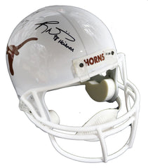 Earl Campbell and Ricky Williams Texas Longhorns Signed Autographed Riddell Full Size Replica Helmet PAAS COA