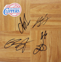 Los Angeles Clippers 2012-13 Autographed Signed Basketball Floorboard