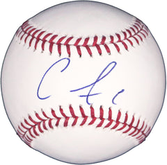 Carlos Correa Houston Astros Signed Autographed Rawlings Official Major League Baseball Global COA with Display Holder