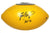 Brett Favre Green Bay Packers Signed Autographed Yellow Packers Logo Football PAAS COA