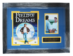 "Field of Dreams Kevin Costner and Dwier Brown Signed Autographed 21"" x 15.5"" Framed Photo"