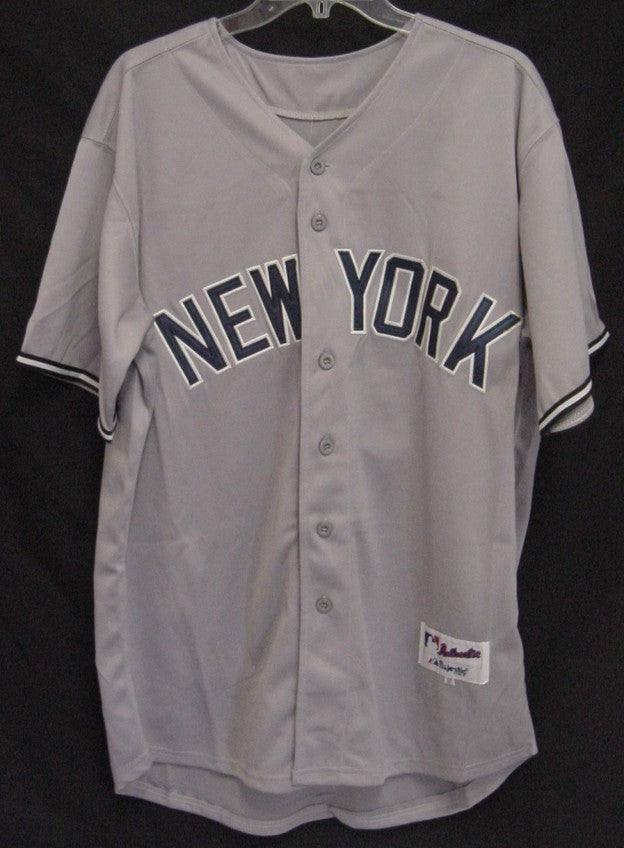 online store 469ab aa42d CURTIS GRANDERSON NEW YORK YANKEES AUTOGRAPHED SIGNED GREY ...