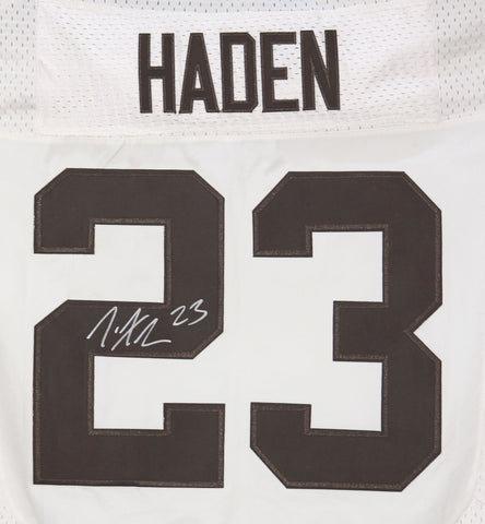 Joe Haden Cleveland Browns Signed Autographed White #23 Jersey