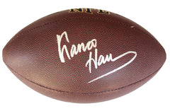 Franco Harris Pittsburgh Steelers Signed Autographed Wilson NFL Football PAAS COA