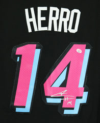 Tyler Herro Miami Heat Signed Autographed City Edition Black #14 Jersey PAAS COA