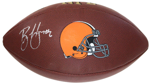 Brian Hoyer Cleveland Browns Signed Autographed Wilson NFL Logo Football