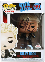Billy Idol Signed Autographed Rocks FUNKO POP #99 Vinyl Figure PAAS COA - DAMAGED