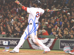 "David Ortiz Boston Red Sox Signed Autographed 8"" x 10"" Home Run Swing Photo Global COA"