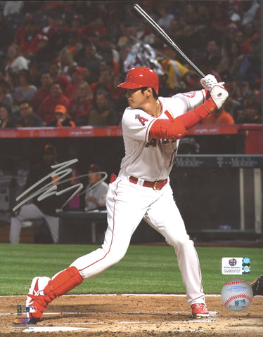 "Shohei Ohtani Los Angeles Angels Signed Autographed 8"" x 10"" Photo Global COA"