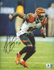 "A.J. Green Cincinnati Bengals Signed Autographed 8"" x 10"" Photo Global COA"