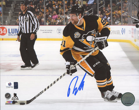 "Phil Kessel Pittsburgh Penguins Signed Autographed 8"" x 10"" Photo Global COA"