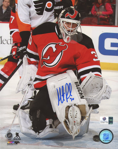 "Martin Brodeur New Jersey Devils Signed Autographed 8"" x 10"" Save Photo Global COA"