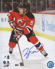 "Taylor Hall New Jersey Devils Signed Autographed 8"" x 10"" Photo Global COA"