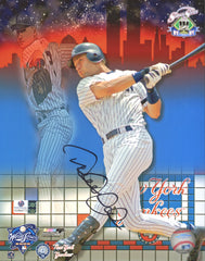"Derek Jeter New York Yankees Signed Autographed 8"" x 10"" World Series Photo Global COA"