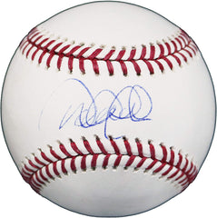 Derek Jeter New York Yankees Sweet Spot Signed Autographed Rawlings Official Major League Baseball Global COA with UV Display Holder