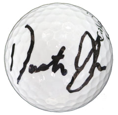 Dustin Johnson Signed Autographed Callaway Golf Ball Global COA with Display Holder