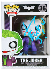 Jared Leto Signed Autographed The Joker BATMAN DARK KNIGHT FUNKO POP #36 Vinyl Figure Global COA