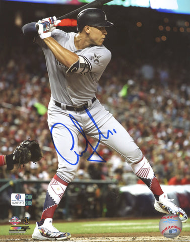 "Aaron Judge New York Yankees Signed Autographed 8"" x 10"" Batting Photo Global COA"