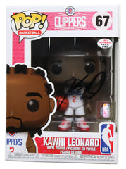 Kawhi Leonard Los Angeles Clippers Signed Autographed NBA FUNKO POP #67 Vinyl Figure PAAS COA