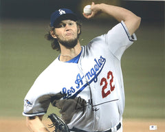 "Clayton Kershaw Los Angeles Dodgers Signed Autographed 16"" x 20"" Photo Global COA"