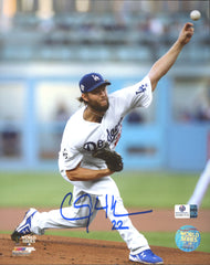 "Clayton Kershaw Los Angeles Dodgers Signed Autographed 8"" x 10"" Photo Global COA"