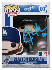 Clayton Kershaw Los Angeles Dodgers Signed Autographed MLB FUNKO POP #07 Vinyl Figure Global COA