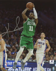 "Kyrie Irving Boston Celtics Signed Autographed 8"" x 10"" Shooting Photo Global COA"