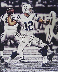 "Andrew Luck Indianapolis Colts Signed Autographed 16"" x 20"" Photo Global COA"
