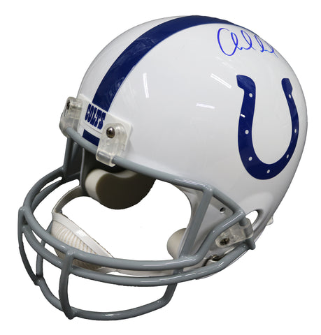 Andrew Luck Indianapolis Colts Signed Autographed Riddell Full Size Replica Helmet