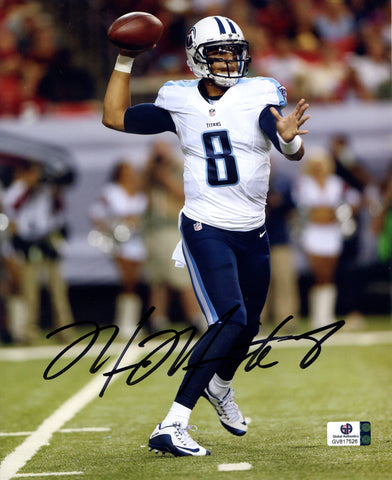 Marcus Mariota Tennessee Titans Signed Autographed 8 X 10 Photo Global COA