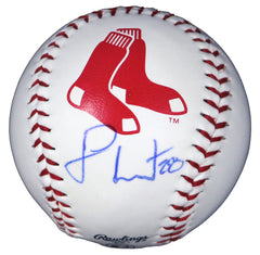 J.D. Martinez Boston Red Sox Signed Autographed Rawlings Official Major League Logo Baseball PAAS COA with Display Holder - FADED SIGNATURE