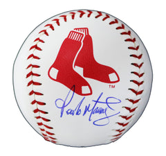 Pedro Martinez Boston Red Sox Signed Autographed Rawlings Official Major League Logo Baseball Global COA with Display Holder