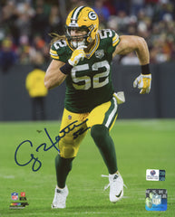 "Clay Matthews Green Bay Packers Signed Autographed 8"" x 10"" Photo Global COA"