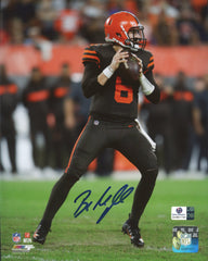 "Baker Mayfield Cleveland Browns Signed Autographed 8"" x 10"" Photo Global COA"