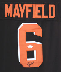 Baker Mayfield Cleveland Browns Signed Autographed Brown #6 Jersey JSA COA