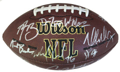 Green Bay Packers 2015-16 Team Signed Autographed Wilson NFL Football PAAS COA Rodgers Matthews