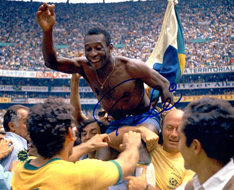 "Pele Brazil Soccer Signed Autographed 8"" x 10"" Photo"