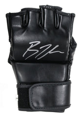 B.J. Penn Signed Autographed MMA UFC Black Fighting Glove Global COA